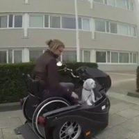 Las motocicletas para personas con sillas de ruedas cada vez son más y mejores. Foto:YouTube