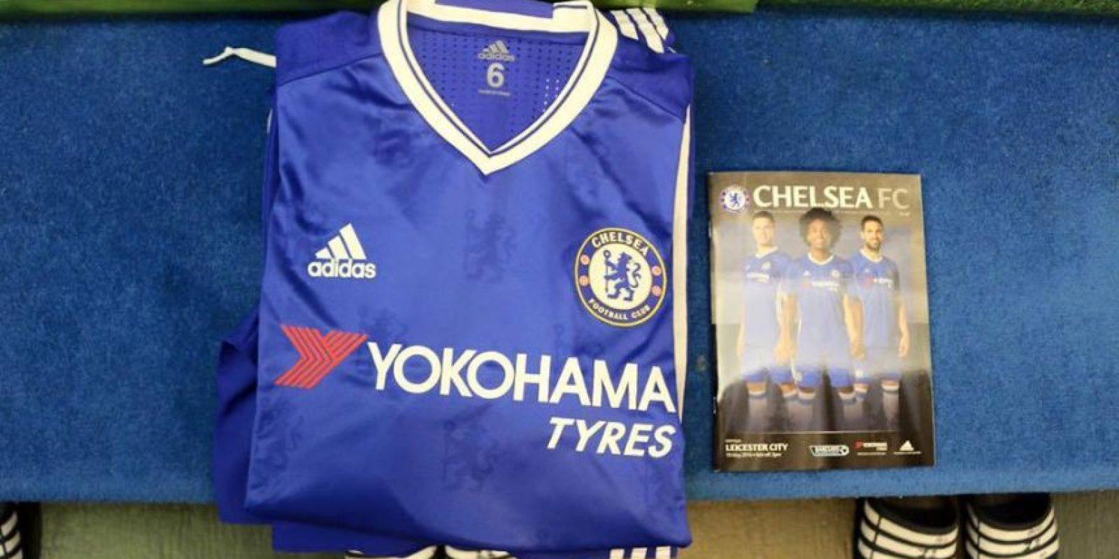 Chelsea usará su última camiseta diseñada por Adidas. Foto:Vía facebook.com/ChelseaFC