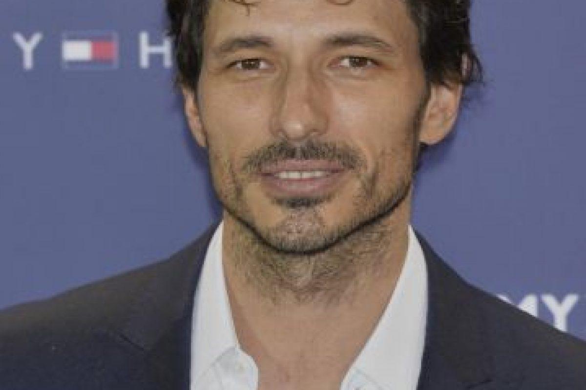 Andrés Valenconso es modelo. Foto:Getty Images