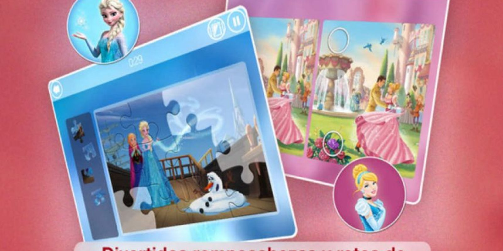 3.- Disney Puzzle Packs Foto: App Store