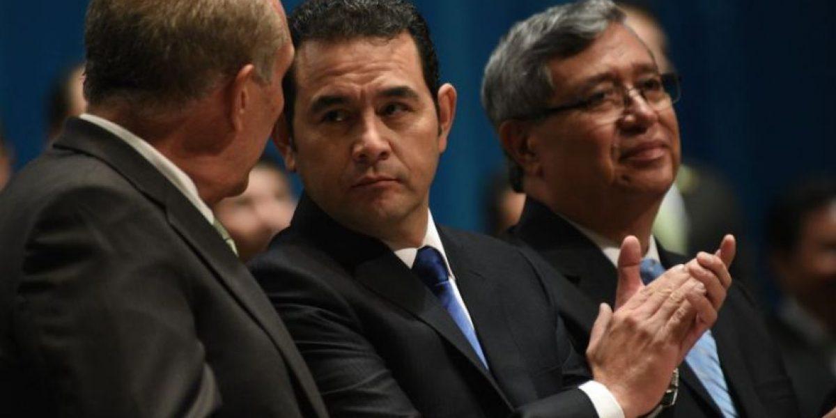 Jimmy Morales está entre los primeros lugares con mayor aceptación en Latinoamérica