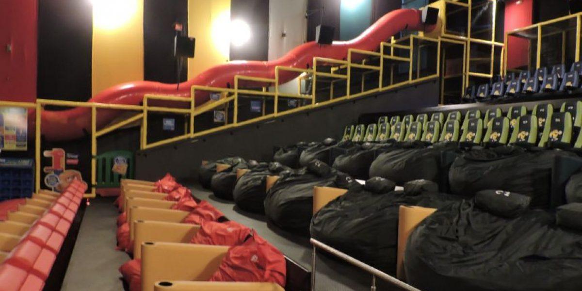 ¡Impresionante! Esta es la sala de cine con la que sueñan los niños