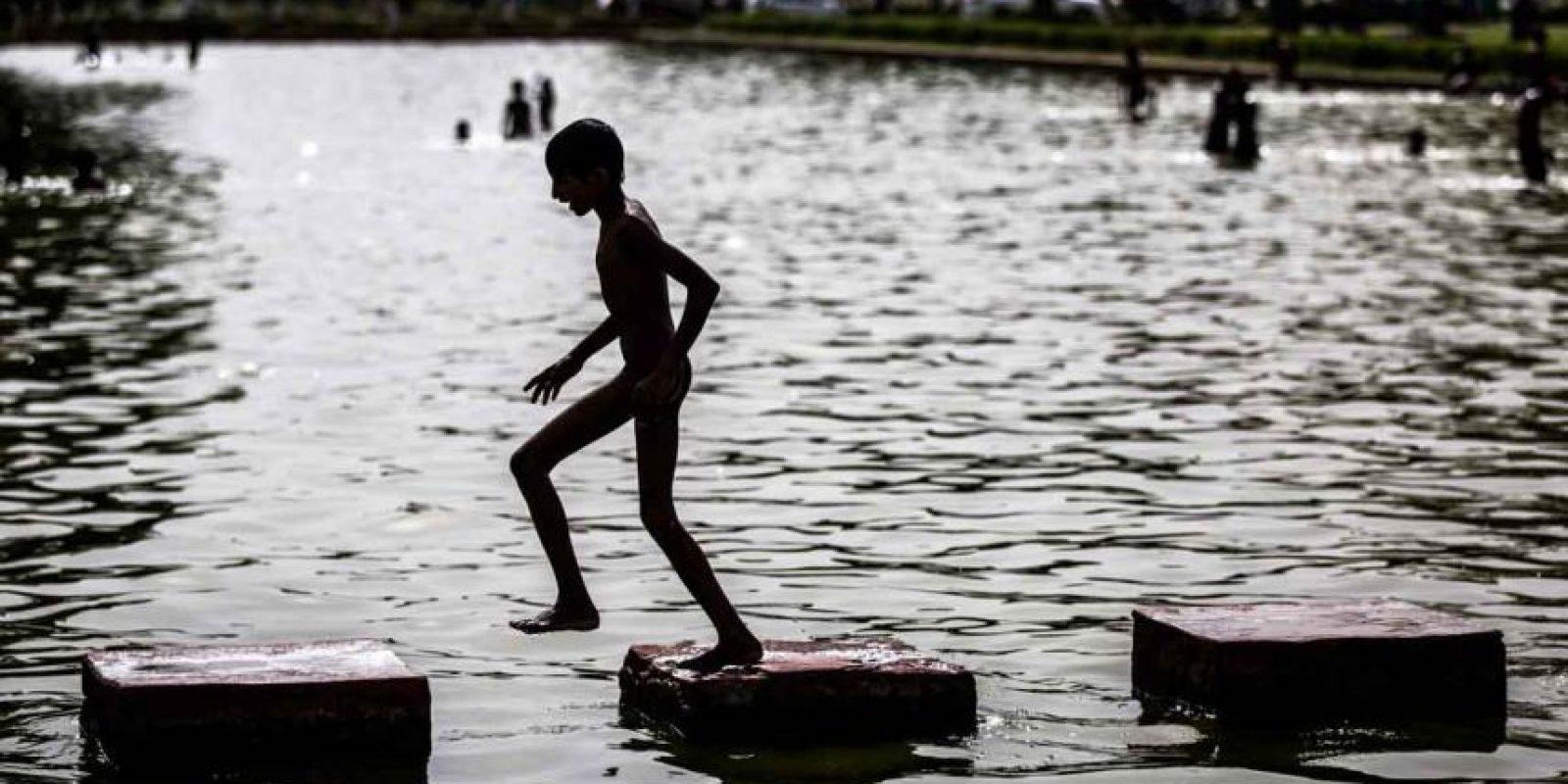 Sin embargo, doctores aconsejan no salir ya que hay riesgo de no sobrevivir al calor Foto:Getty Images