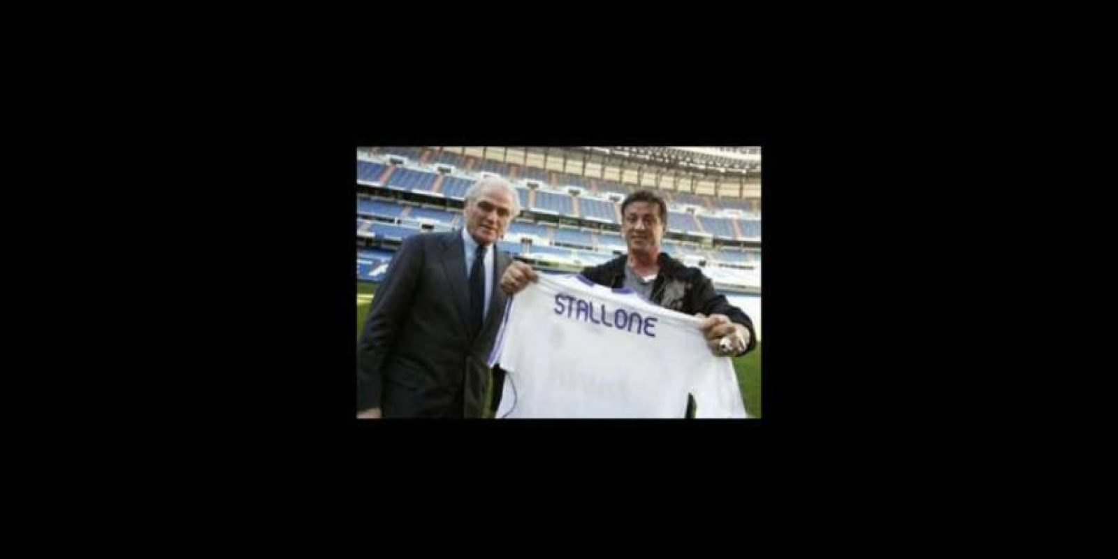 10. Sylvester Stallone (Actor) Foto: realmadrid.com