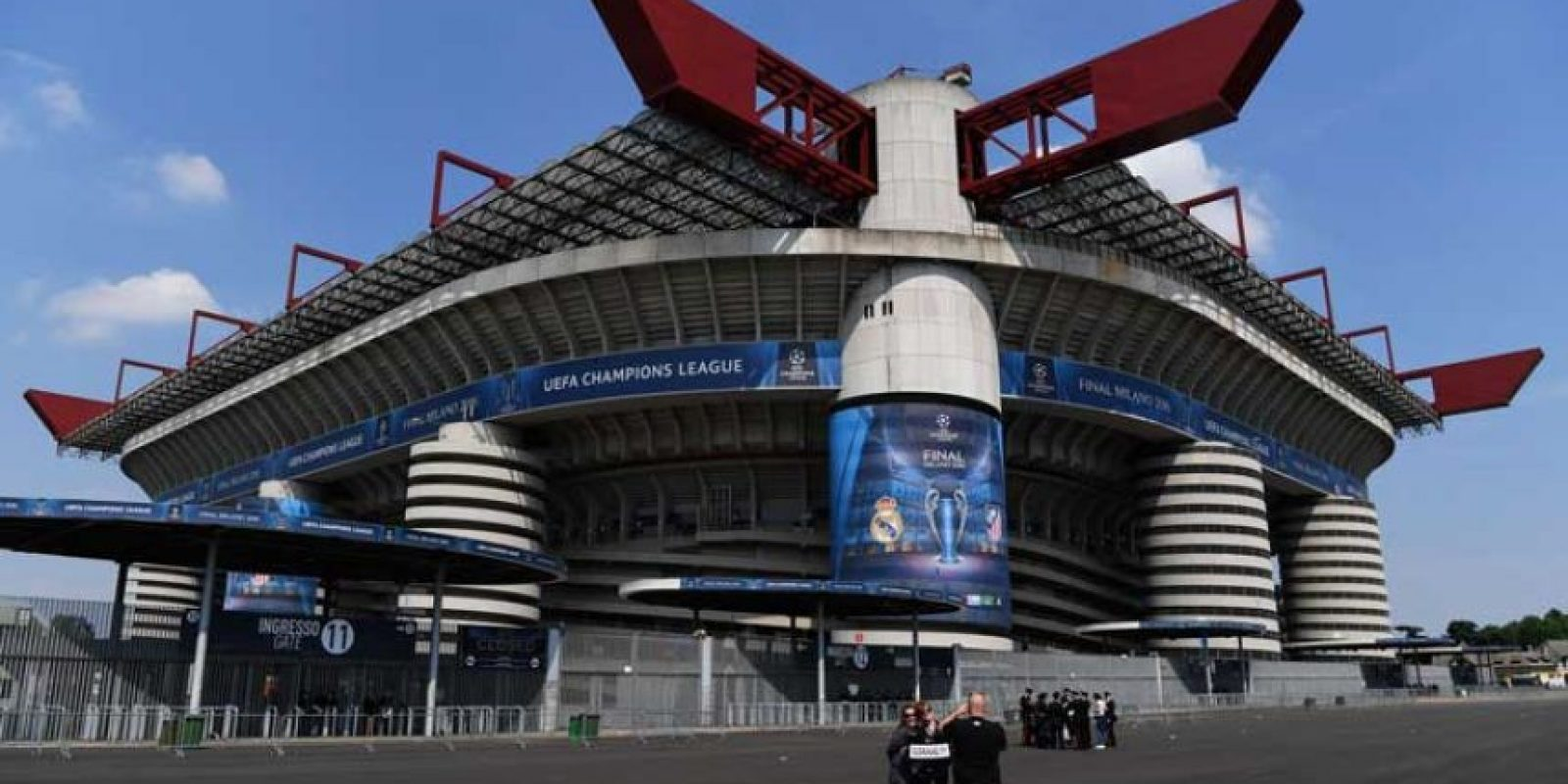 El Estadio San Siro está listo para la final de la Champions League. Foto: Getty Images