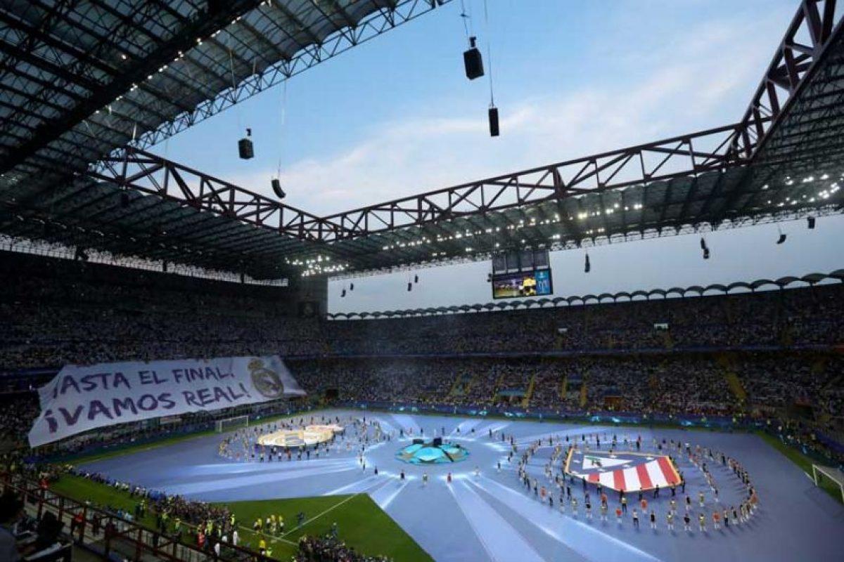 Por primera vez en la historia de la Champions League, hubo un concierto de apertura. Foto:Getty Images