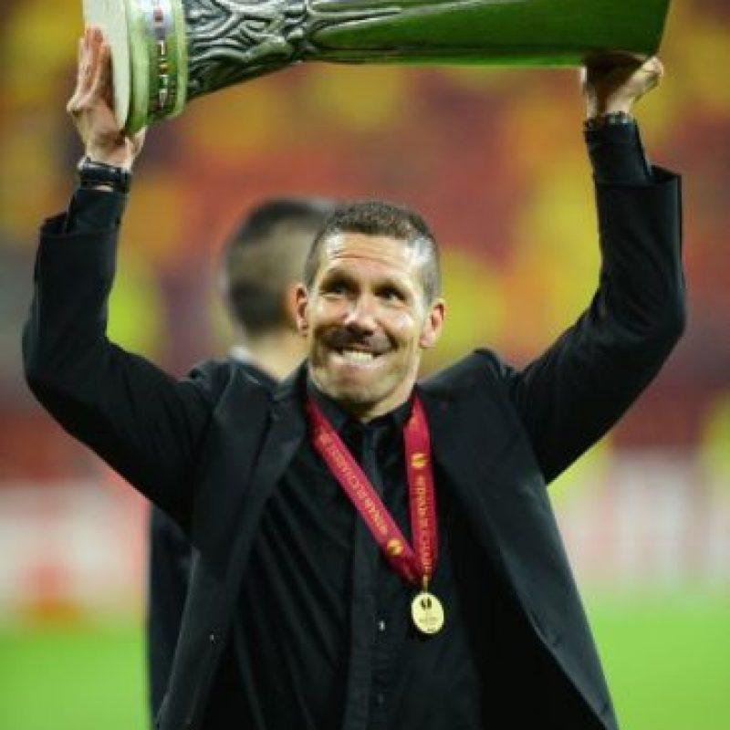 23 de diciembre de 2011: Se hace oficial su fichaje por el Atlético de Madrid. Foto:Getty Images