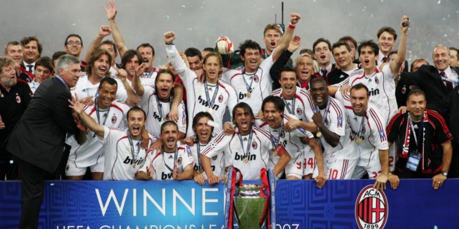 AC Milan (Italia)-7 títulos: 1963, 1969, 1989, 1990, 1994, 2003, 2007 Foto:Getty Images