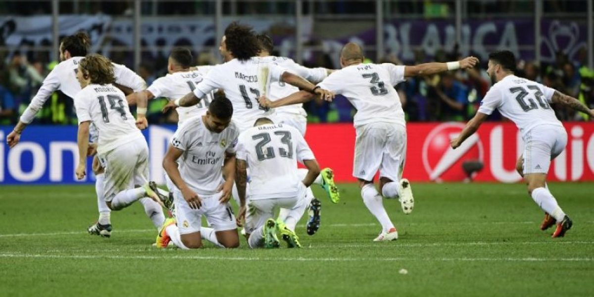 Resultado de la final de la Champions League 2016, Real Madrid vs. Atlético de Madrid