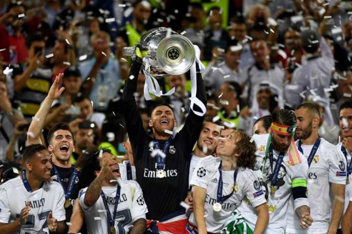 Real Madrid ganó la Champions League tras derrotar al Atlético en penales. Foto: Getty Images
