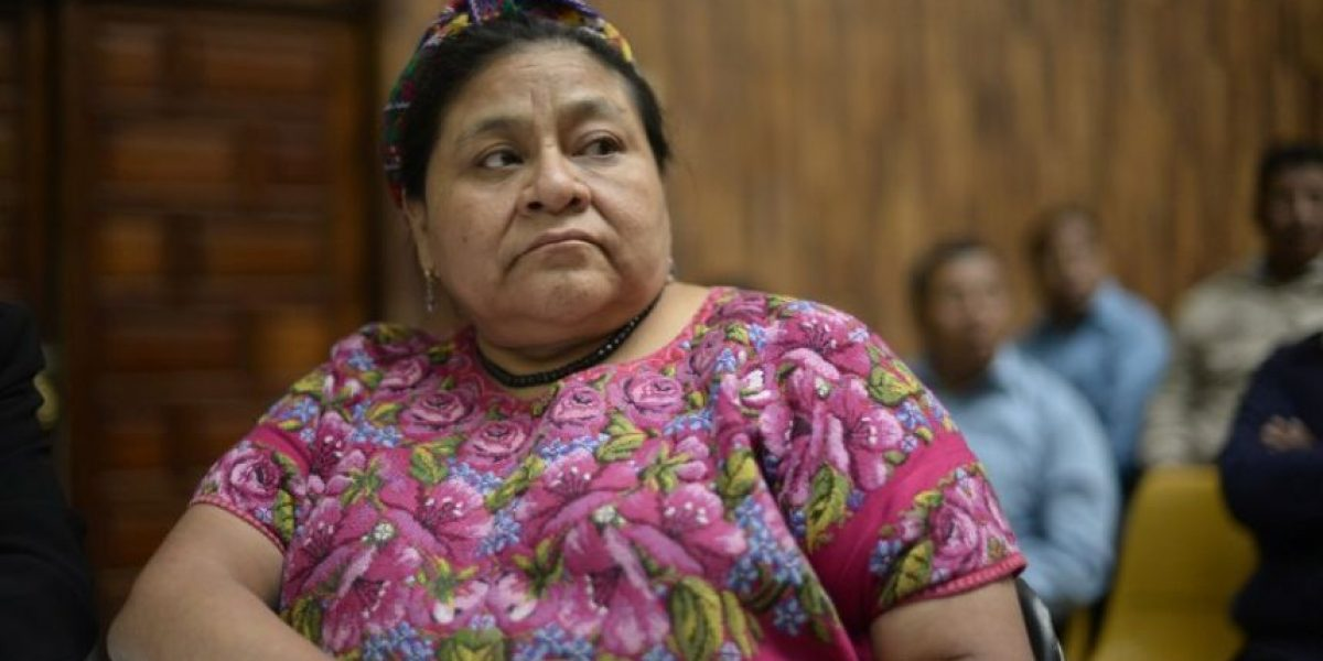 Por primera vez, Rigoberta Menchú habla sobre la polémica