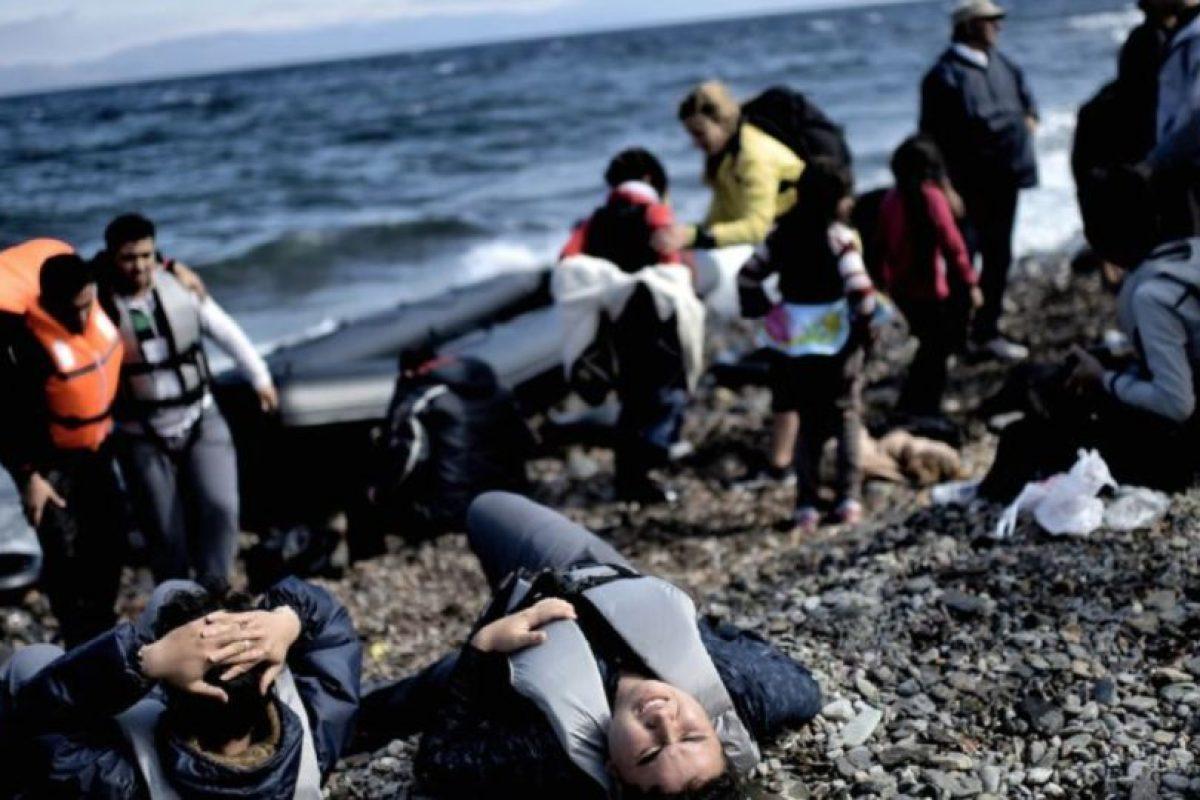 A pesar de los miles de ahogados, la gente sigue llegando. Foto:vía AFP