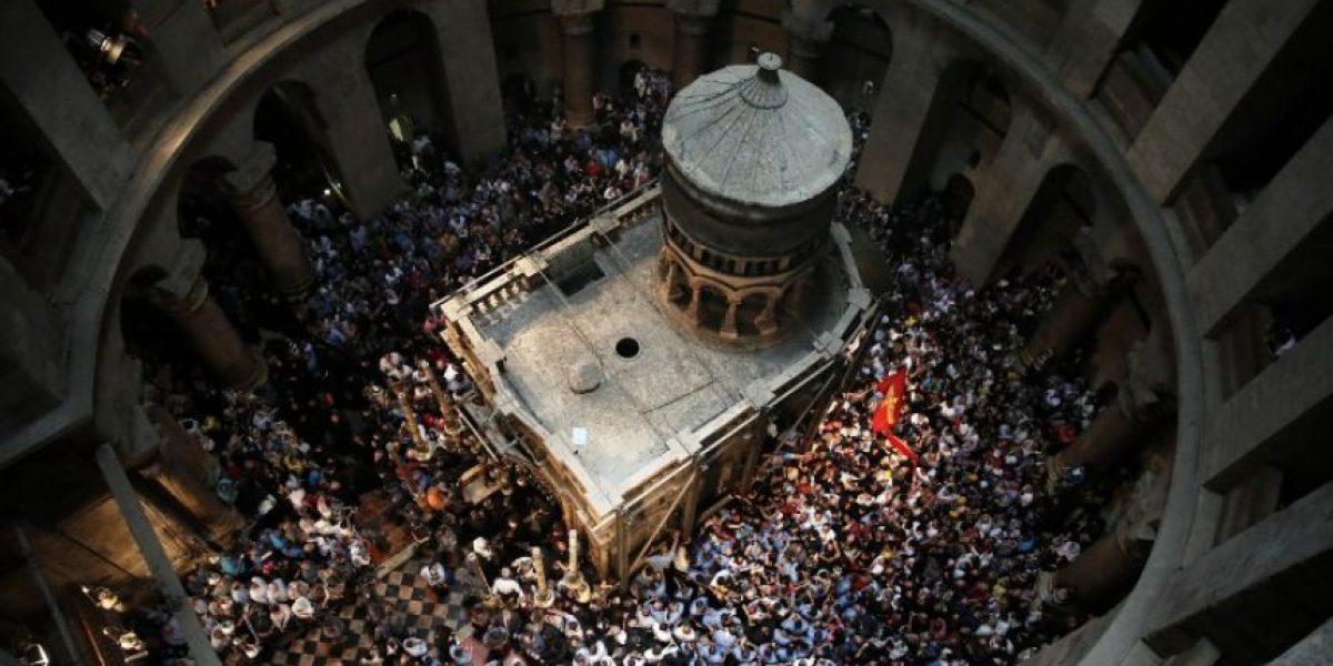Inicia la restauración de la tumba de Cristo en Jerusalén