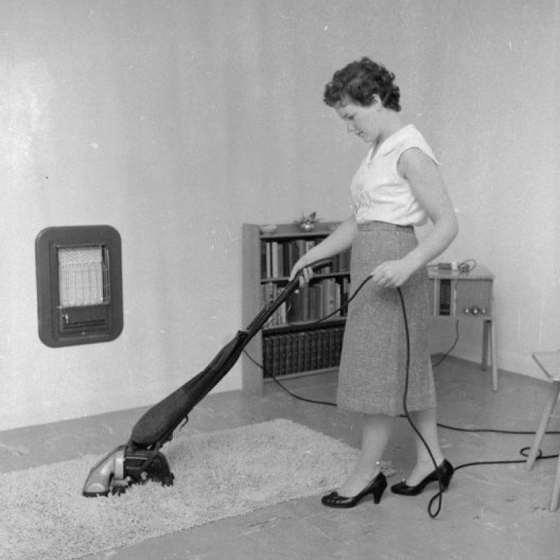 La primera vez que se usó una aspiradora fue en 1869. Foto:Getty Images