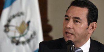 Jimmy Morales revela dos nombres de aspirantes a PGN
