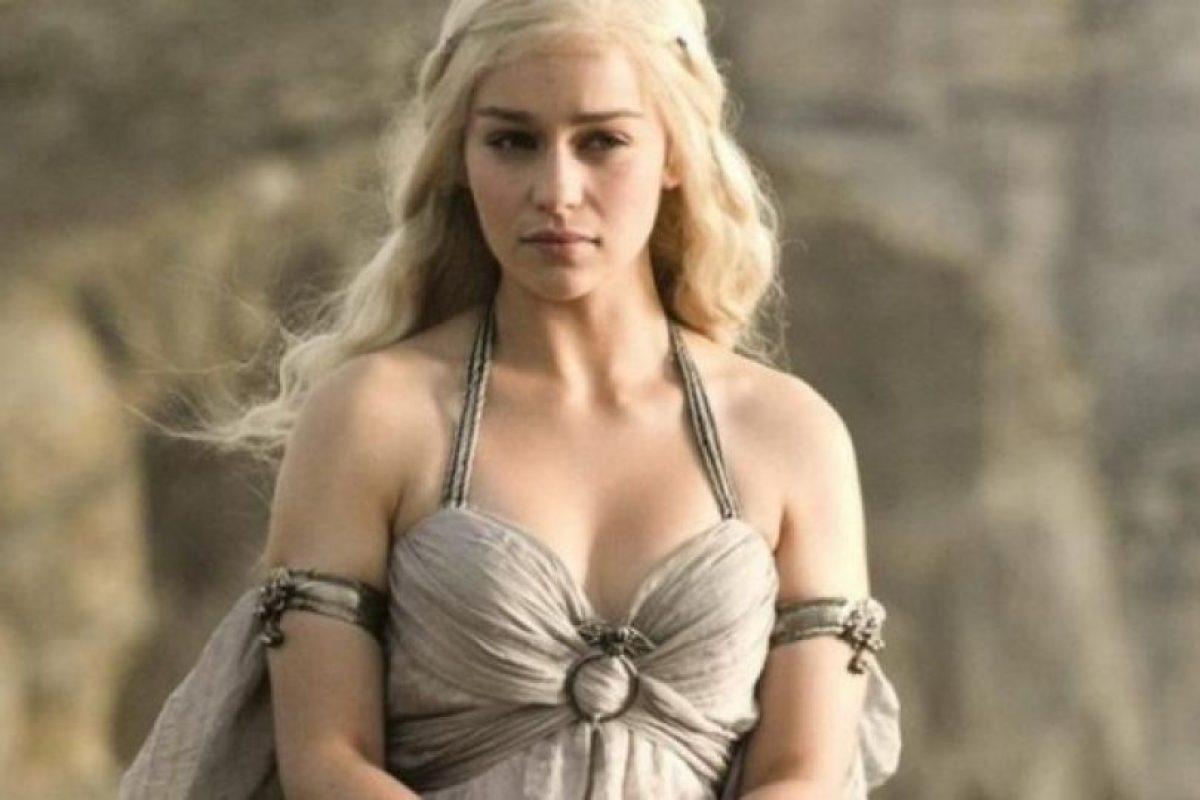 """Conocida por su papel de """"Daenerys Targaryen"""" en """"Games of Thrones"""" Foto:HBO"""