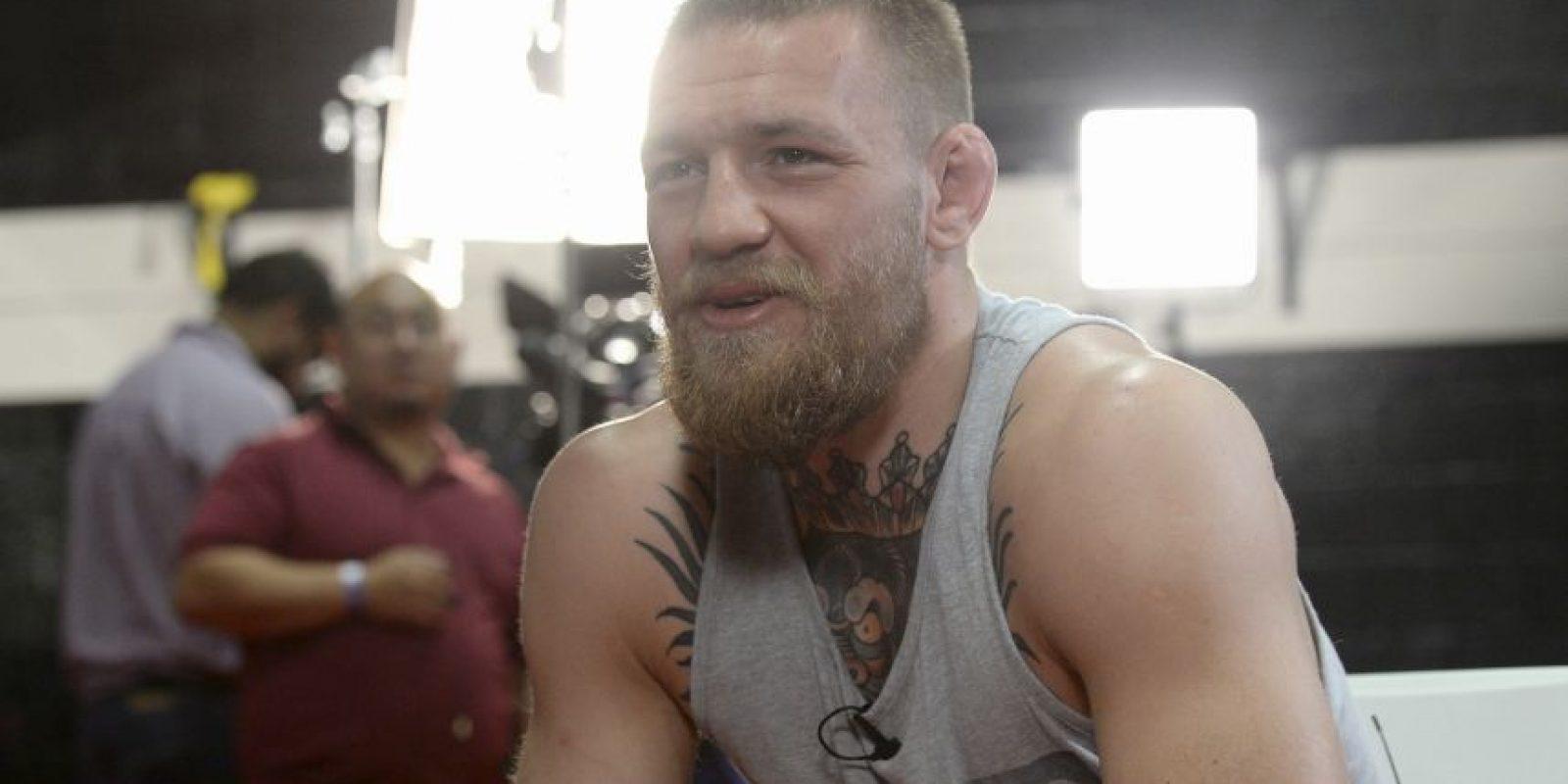 Mientras que Conor tiene un récord en las MMA de 19 victorias y tres derrotas Foto:Getty Images
