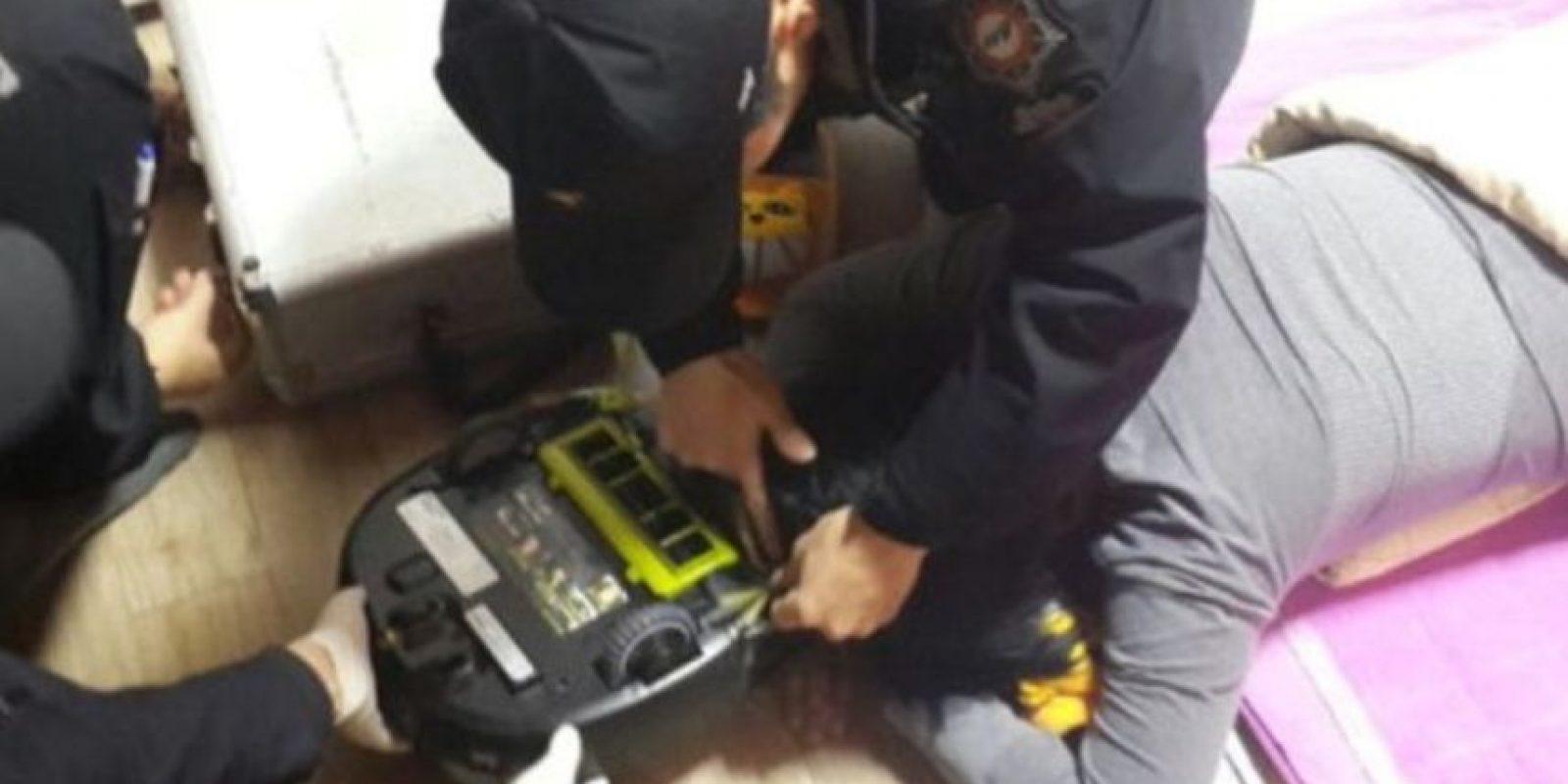 5. Salvaron a una mujer atacada por su robot aspiradora Foto:Changwon Fire Service Headquarters