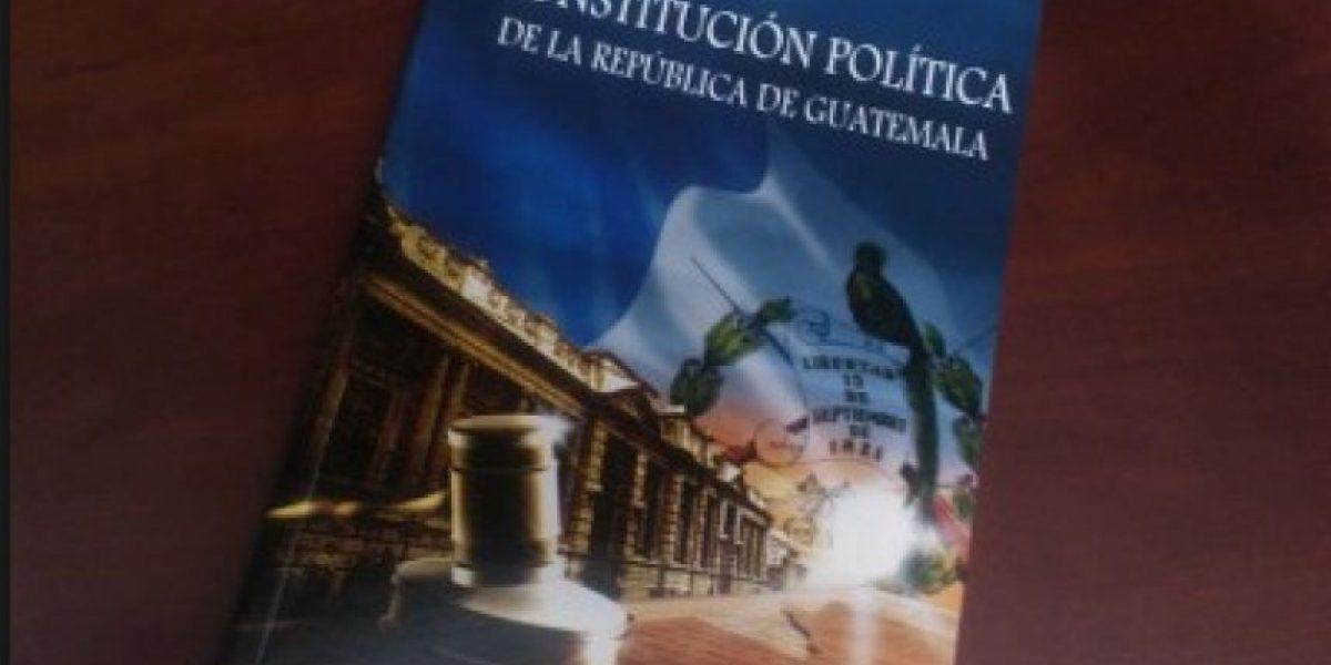 10 datos acerca de la Constitución Política de Guatemala que llega a 31 años