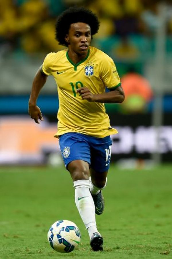 Willian fue criticado por su estado físico en el partido ante Panamá Foto:Getty Images