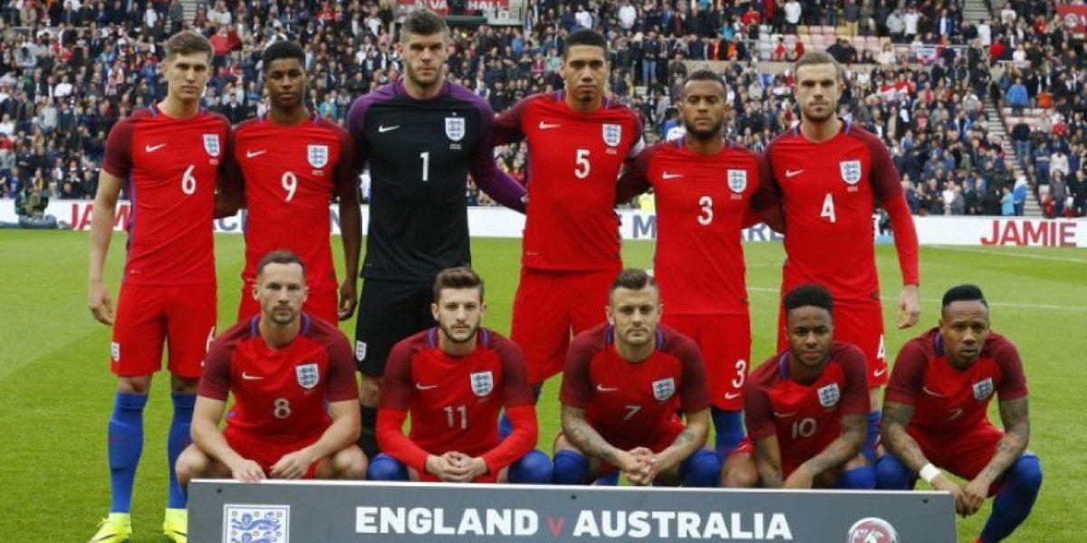 Inglaterra presenta su lista definitiva para la Eurocopa