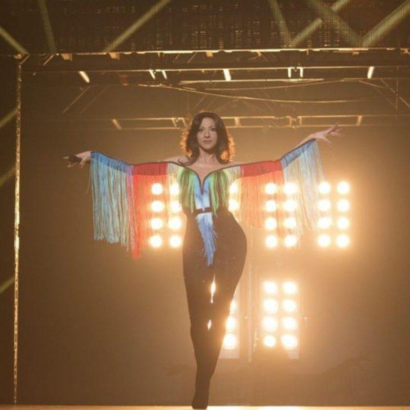 La cantante Dana Internacional Foto:Vía instagram.com/danainternational