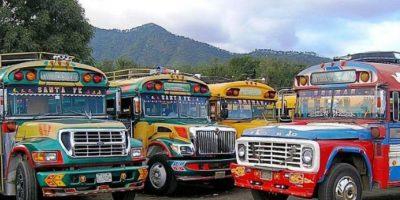 VIDEO. La increíble transformación de los buses extraurbanos que usamos en Guatemala