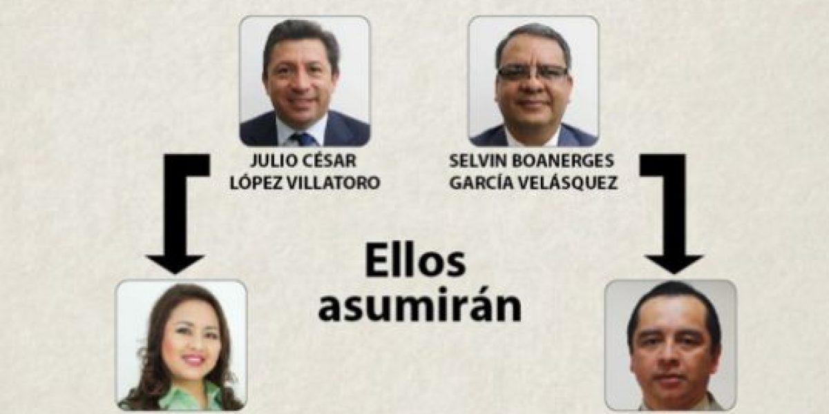 Entre abrazos y admiración despiden a Selvin García y Julio López, señalados de plazas fantasma