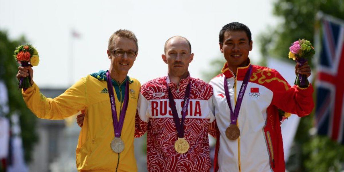 Marchistas rusos devuelven medallas olímpicas de oro y plata