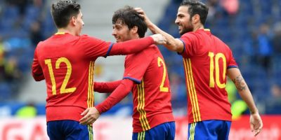 España se divierte con Corea del Sur previo a la Eurocopa