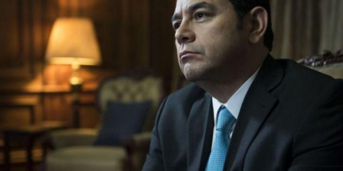 """Jimmy Morales asegura que gobierna con """"meritocracia"""""""