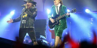 Axl Rose cantará con AC/DC durante diez conciertos en Estados Unidos