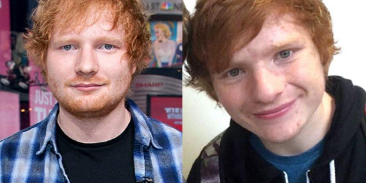 ¡No, no estás viendo doble; es el gemelo de Ed Sheeran!