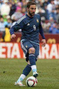 5. Gonzalo Higuaín (Argentina) 60 millones de euros Foto:Getty Images