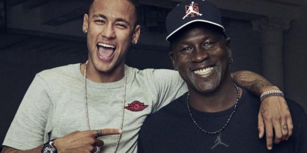 Neymar conoce a su ídolo