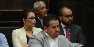 Otto Pérez Molina y Roxana Baldetti se encontrarán de nuevo en un juzgado