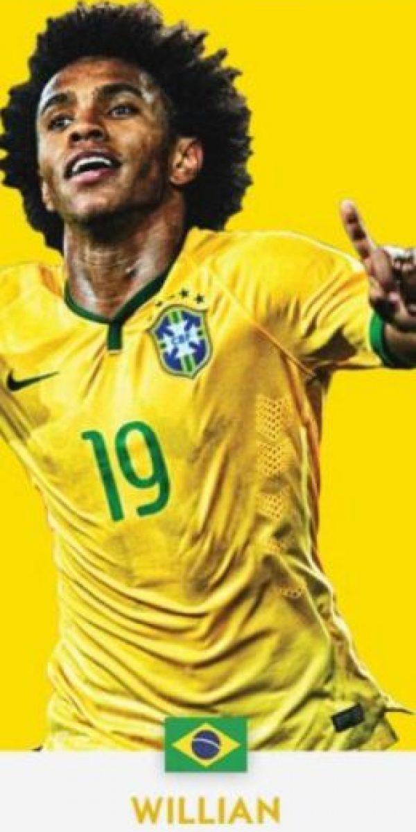 Willian (Brasil/Chelsea) Foto:ca2016.com