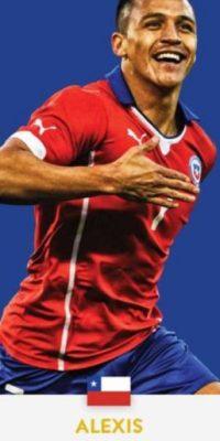 Alexis Sánchez (Chile/Arsenal) Foto:ca2016.com