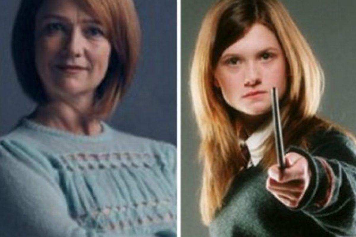 "Poppy Miller que se convertirá en ""Ginny Potter"" Foto:Pottermore"