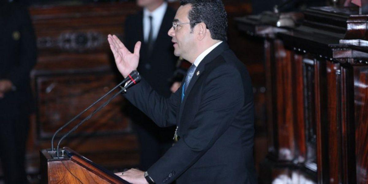 Presidente Jimmy Morales: