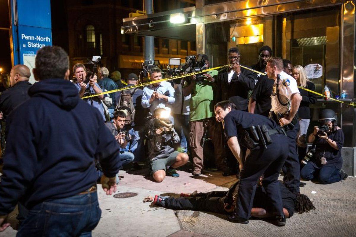 Adquirida mientras se encontraba bajo custodia policial. Foto:Getty Images