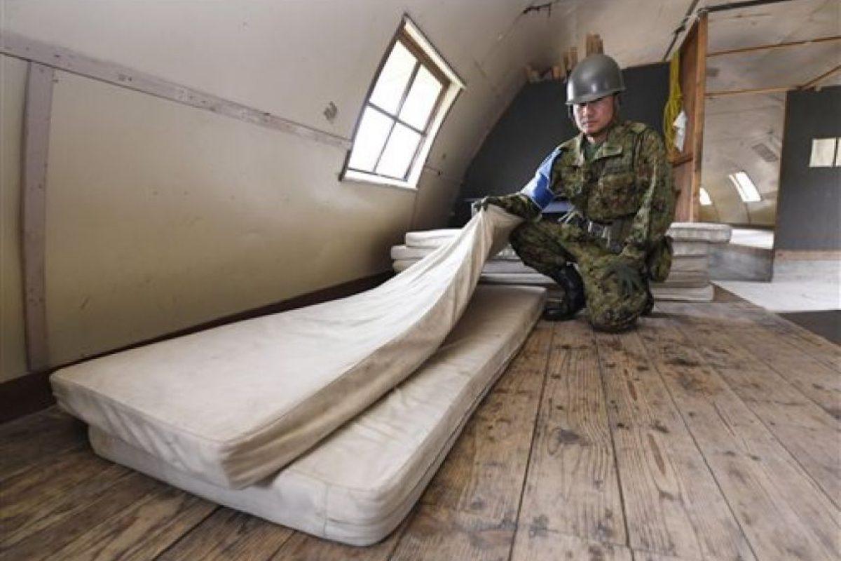 Estuvo refugiado aquí durante los seis días Foto:AP