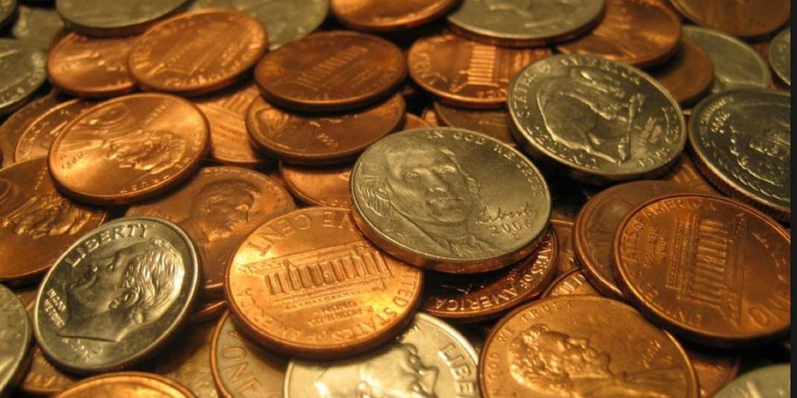 Las denominaciones son de .1, .5, .10, .25 y .50 centavos. Foto:pixabay.com