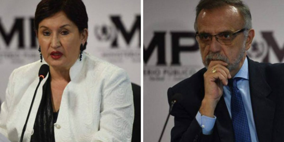 Aldana y Velásquez expresaron su sentir ante este nuevo caso de corrupción