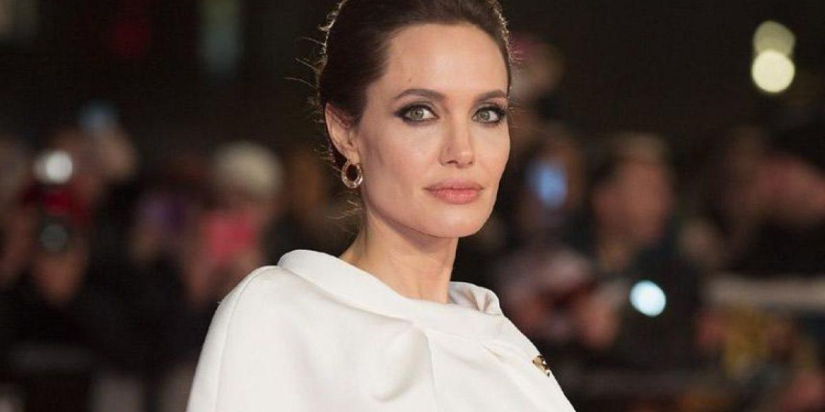 ¡Hermosa! Las fotos que no habías visto cuando Angelina Jolie tenía 16 años