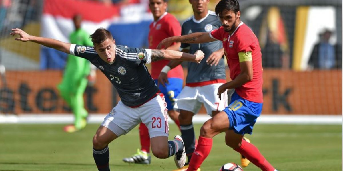 Resultado entre Costa Rica y Paraguay solo beneficia a Colombia