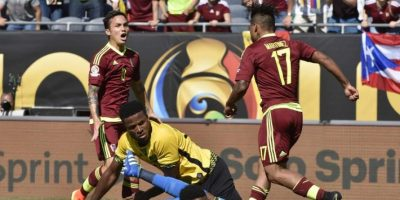 #CopaAmérica Un gol le bastó a Venezuela para vencer a Jamaica