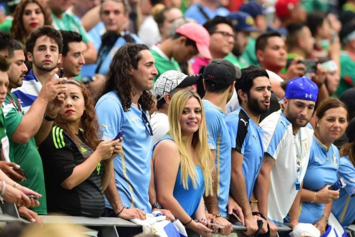 El error de los organizadores provocó los abucheos del público en Phoenix. Foto:AFP