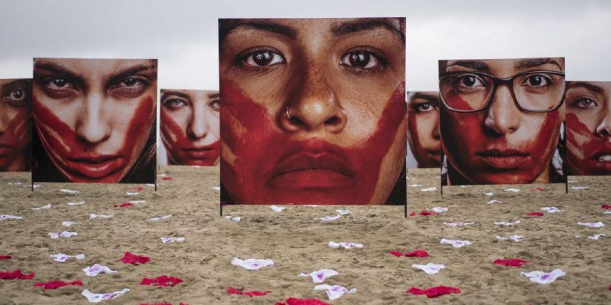 De esta curiosa manera han protestado contra las violaciones en Brasil