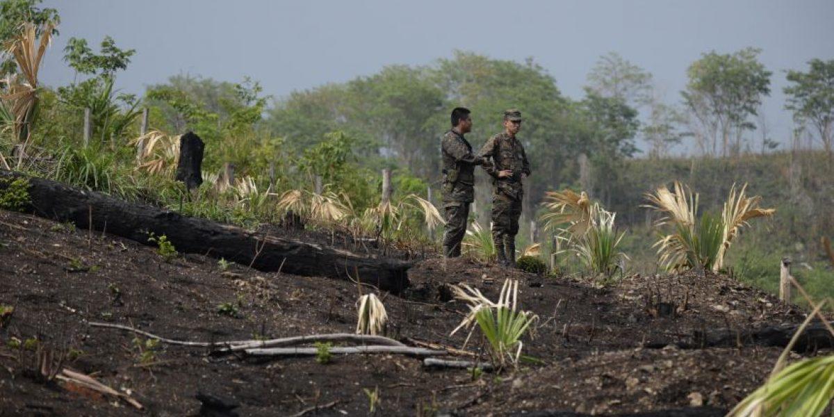 Gobierno oficializa estado de calamidad pública por incendios forestales en Petén